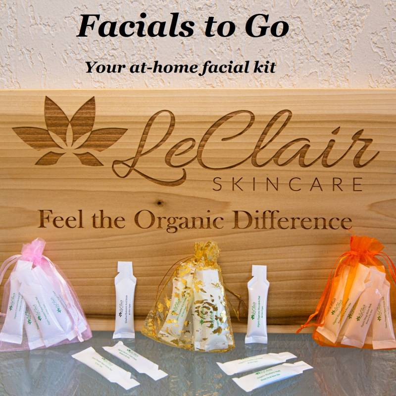 At Home Facials | Phoenix | LeClair Skincare